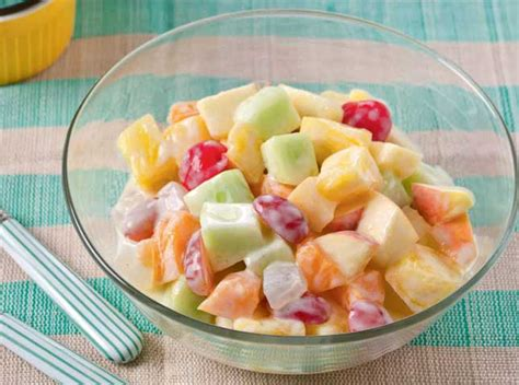 fruit yogurt salad yogurt fruit salad recipe ph
