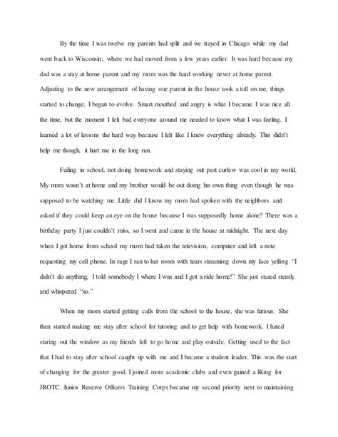 Parenting Essay by How To Write Essay About My Parents Personal Statement Exles Ucas Sles Exle Cv
