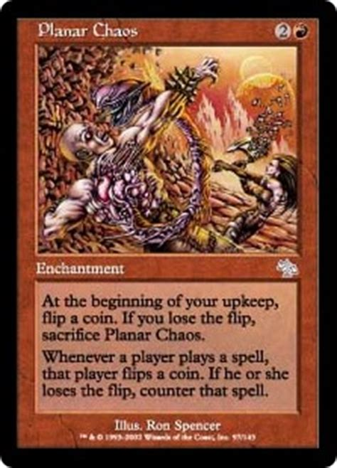 Number Of Cards In A Magic Deck by Planar Chaos Judgment Gatherer Magic The Gathering