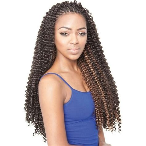hairstyles with braids and weave isis collection caribbean bundle braids water wave