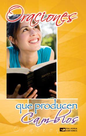 libro oraciones que producen cambios palabra ediciones detalle del producto libros estas