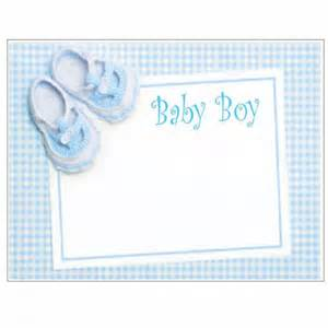Baby Gift Card - new baby boy gift cards pack of 10