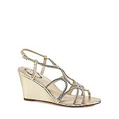 Darlene Shoes Gold s sandals debenhams