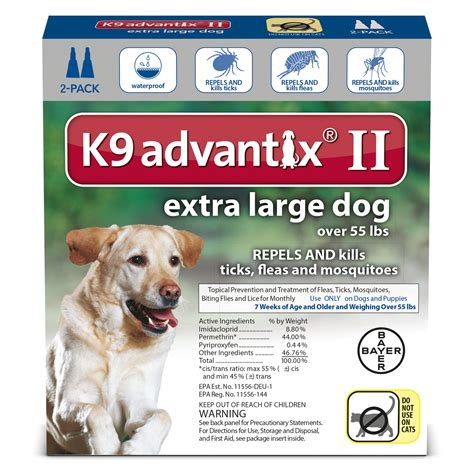 k9 advantix ii large k9 advantix ii topical large flea tick treatment petco