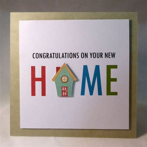 Handmade New Home Card Ideas - pin by johanna klotz on new home cards