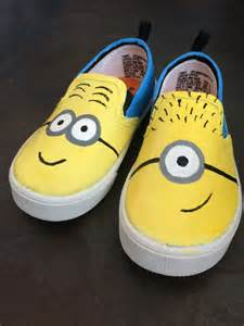 minion shoes minion shoes by gentrygifts on etsy