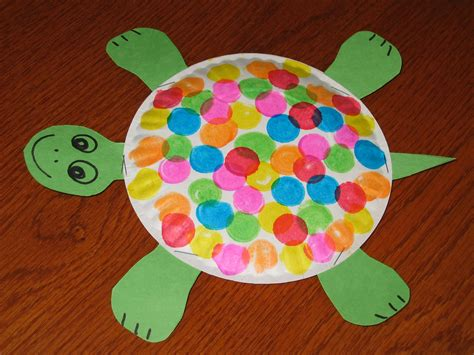 Craft Works With Paper - paper plate craft work find craft ideas