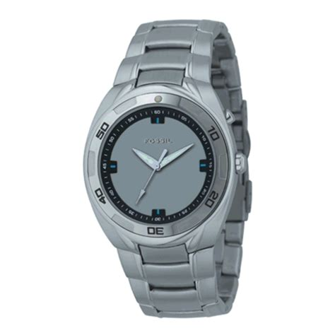 Men S Watches Fossil Big Tic Watch Stainless Steel 41mm