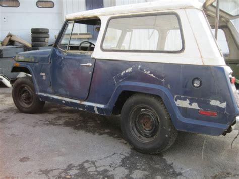 1970 jeep commando for sale 1970 jeepster commando 4x4 v6 41436 miles runs and drives