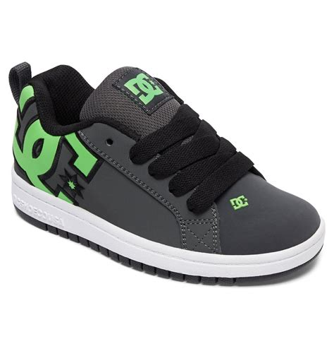 dc kid shoes kid s court graffik se shoes adbs100203 dc shoes