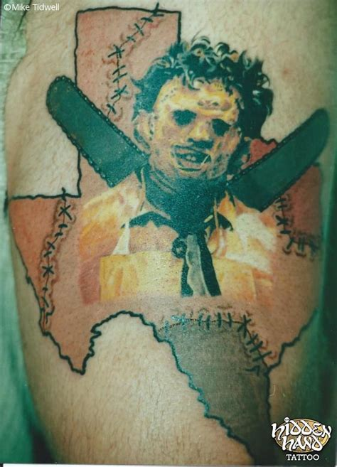 leatherface hidden hand tattoo seattle wa