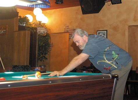 professional pool player mike massey puts on trick exhibition in craig craig daily press