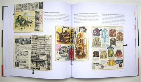 sketchbook for the artist in a peek inside favorite artists