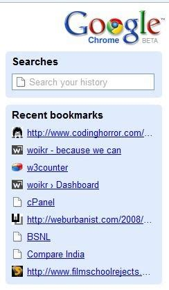 Recent Address Search Look Chrome The Browser Woikr