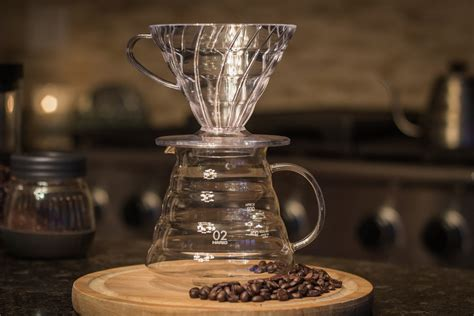 V60 Coffee hario v60 02 clear coffee dripper pour method