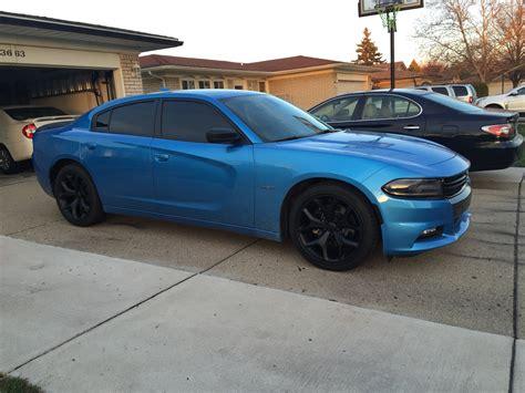 2015 Dodge Charger Tt B 5 Blue Rims View Mirrors