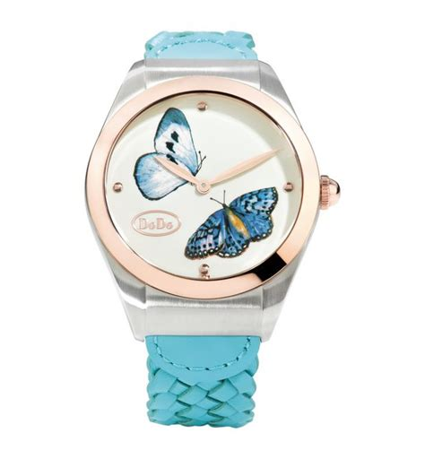 orologio dodo pomellato dodo butterfly acciaio pvd color oro rosa dodo