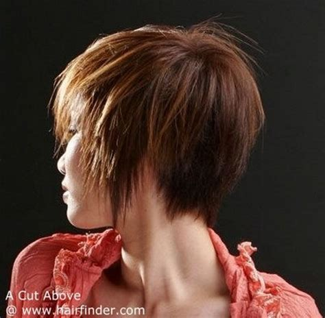 rear view hairstyles gallery short hair styles back view