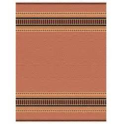 home decorators collection pueblo design terracotta black