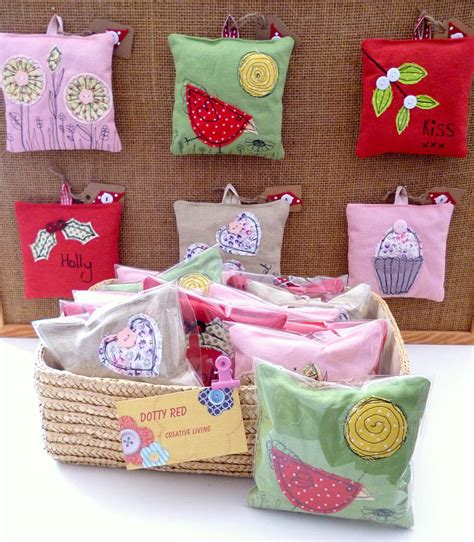 Handmade Lavender Bags - handmade lavender bags by dotty by paper and string