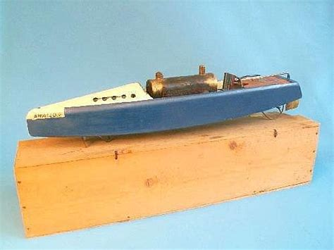 steam boat toy india a hobbies bowman steamboat the quot swallow quot in original woode