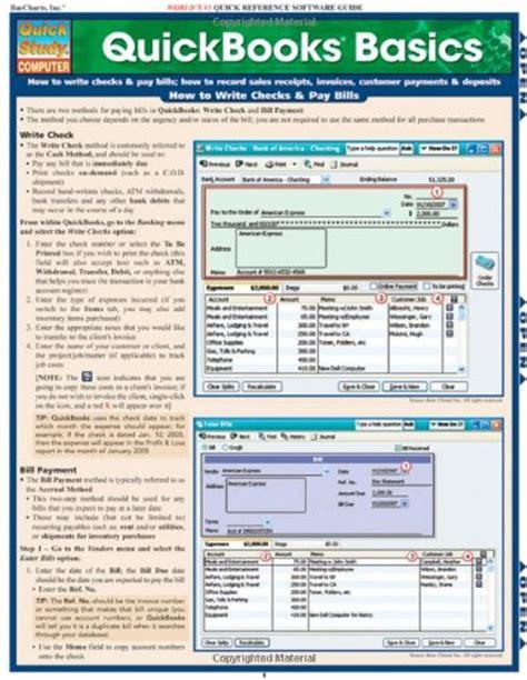 quickbooks tutorial guide quickbooks pro 2016 quick reference training card