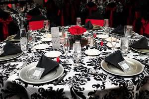Damask Wedding Decor by 36 Best Images About Black And Wedding On