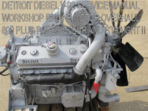 detroit diesel series  service manual workshop repair