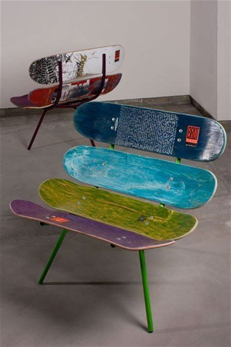 skateboard bedroom decor 95 best images about upcycled chairs upcycle reuse recycle repurpose on best