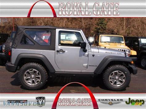 jeep rubicon silver 2013 jeep wrangler rubicon 4x4 in billet silver metallic