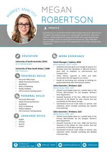 standard cv template word the megan resume professional word template