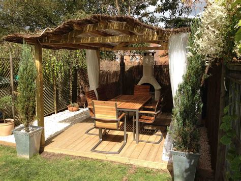 garden pergola with roof rooftops derry toms surrey roofgardens materials shed venues city view gazebo solutions