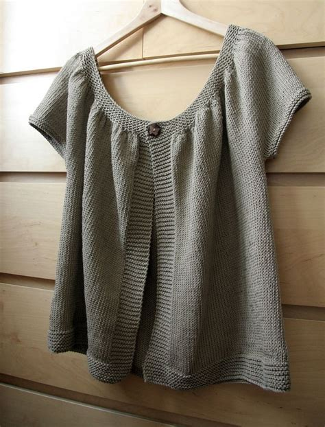knit pattern short sleeve sweater 17 best images about knitting cardigans and tops on