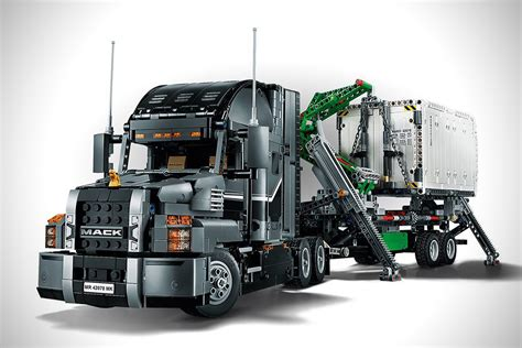 lego truck lego technic 2 in 1 mack truck hiconsumption