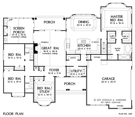 117 best duplex plans single level images on