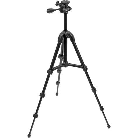 Tripod Vct R100 Sony Vct R100 4 Section Lightweight Tripod With 3 Way Vctr100