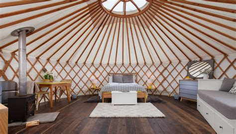 Farm Home Plans willow yurt interior the yurt retreat