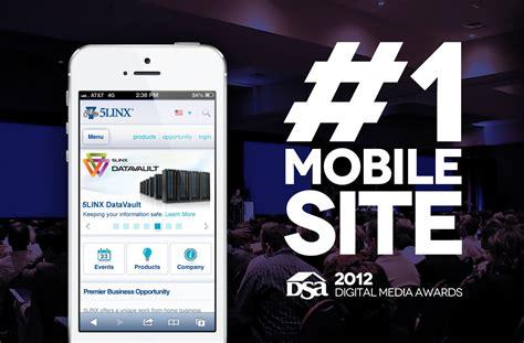 mobile site awards arca interactive designs dma s 1 mobile site