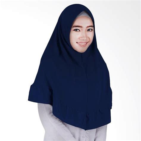 Jilbab Instan Bandung jual bandung kerudung instant alda navy