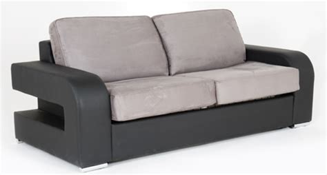 canape alban canape convertible couchage 140 cm alban wilma noir micro 23