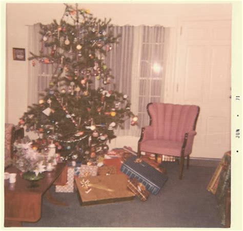 christmas tree in 1970s the knack and how to get it the mid century evolution of a family tree