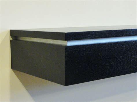 Silver Wall Shelf by Wall Shelf 47x12 N J Concealment Furniture