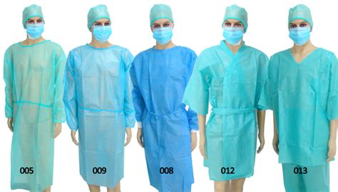 surgical gowns and drapes medical product work clothes sterile surgical gown plastic