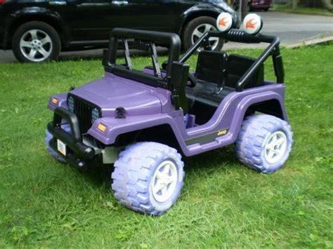 purple barbie jeep 9 best power wheels jeep images on pinterest power