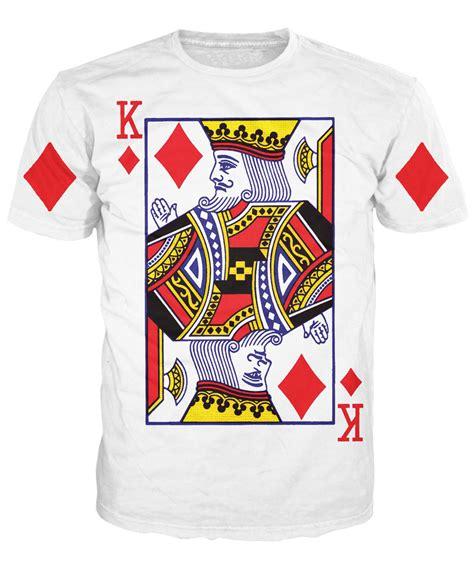 Card T Shirt 2015 new arrive king of diamonds t shirt shirts