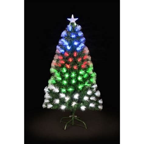 buy 7ft snowburst fibre optic christmas tree from our