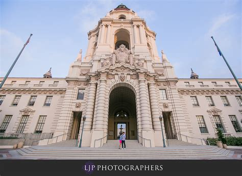 Pasadena City Hall Engagement   Jason and Jackie