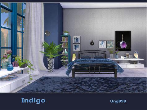 indigo bedroom indigo bedroom by ung999 at tsr 187 sims 4 updates