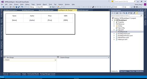 reportviewer wpf wpf中使用reportviewer报表 yang fei 博客园