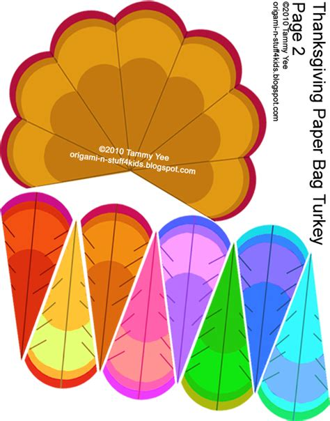 printable turkey paper craft origami n stuff 4 kids thanksgiving quot giving thanks